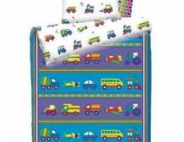 Детское постельное белье Машинки (бязь, 100% хлопок) купить в наличии в Санкт-Петербурге