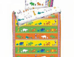 Детское постельное белье Зоопарк (бязь, 100% хлопок) купить в наличии в Санкт-Петербурге