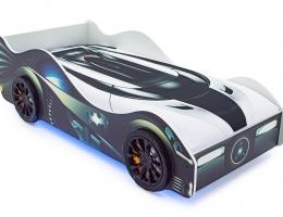 Кровать-машина «Бэтмобиль» с подъемным механизмом купить в наличии в Санкт-Петербурге