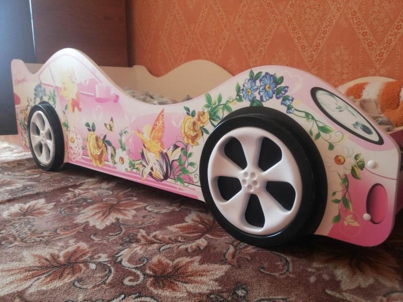 Детская кровать машина для девочки ФЕЯ с хорошими отзывами