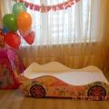 Детская кровать машина для девочки ФЕЯ в интернет-магазине