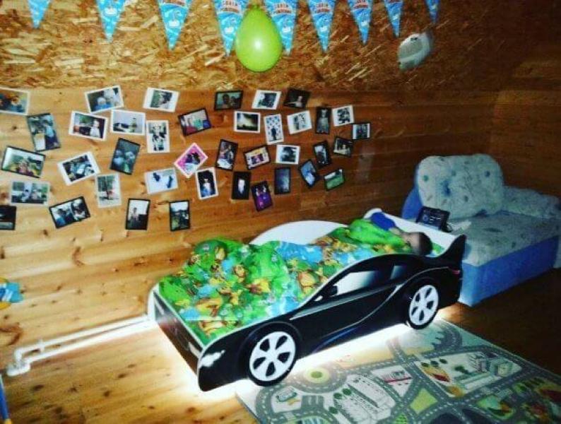 Кровать машина для мальчика BMW (БМВ) в интернет-магазине