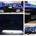 Кровать машина для мальчика BMW (БМВ) без запаха