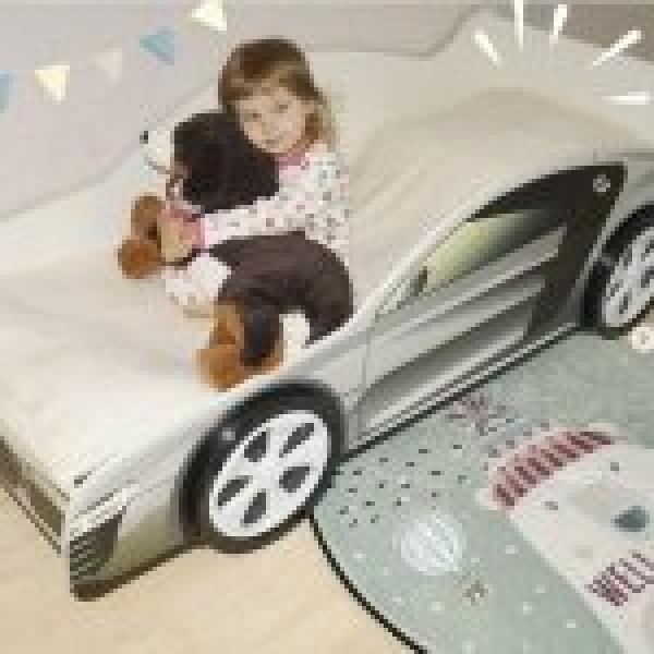 Детская кровать - машина AUDI (АУДИ) с хорошими отзывами
