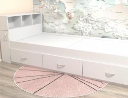 Подростковая кровать классическая белая с ящиками купить в наличии в Санкт-Петербурге