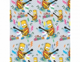 Детский плед Simpsons Music