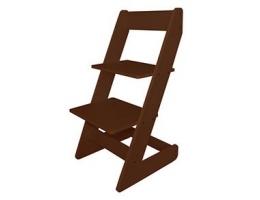 Растущий стул Бемби Коричневый