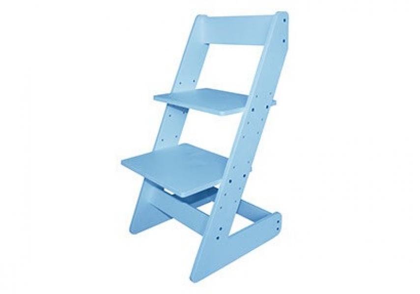 Растущий стул Бемби Голубой с профессиональной сборкой