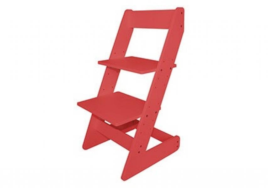 Растущий стул Бемби Красный с удобной инструкцией