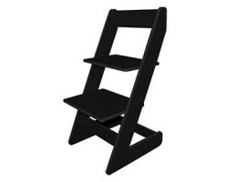 Растущий стул Бемби Черный