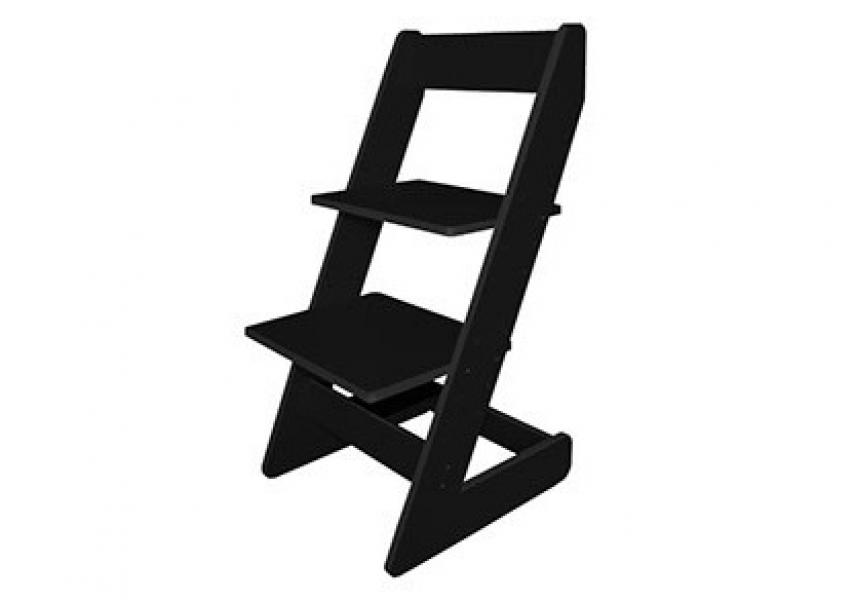 Растущий стул Бемби Черный в интернет-магазине