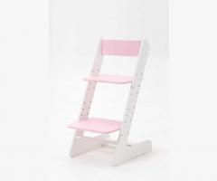 Растущий стул Бемби Бело-розовый